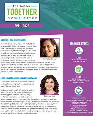 April 2020 | Better Together Newsletter