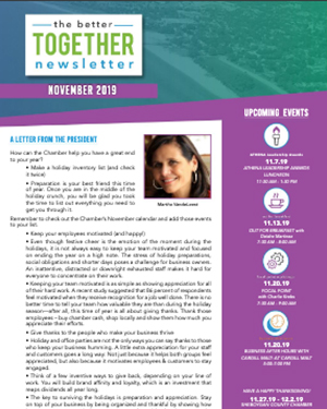 November 2019 | Better Together Newsletter