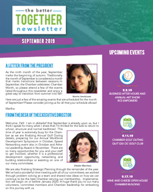 September 2019 | Better Together Newsletter
